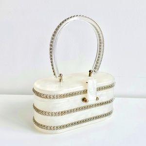 Vintage 1950's Gill Lucite Handbag